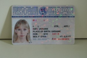 internetional driver license